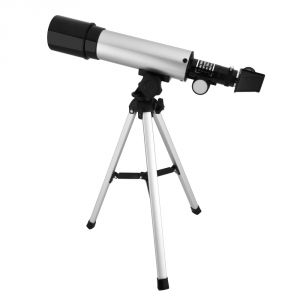 Binoculars, Magnifying Glasses, Telescopes - Optical Glass & Metal Tube 90x Power Land & Sky Telescope