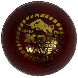 Kdm Wave Leather Ball (pack Of 3)