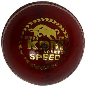 Kdm Speed Leather Ball (pack Of 3)