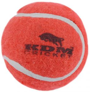 Kdm Cricket Tennis Ball (pack Of 12)