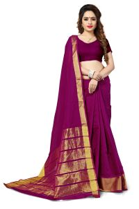 Mahadev Enterprise Maroon Banarasi Silk Weaving Saree With Running Blouse Pics ( Code - Rjm1111d)