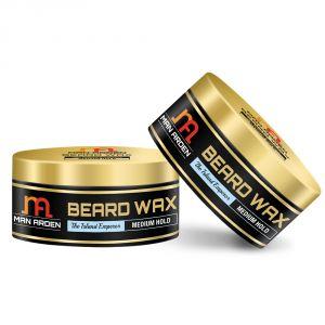 Skin Care - Man Arden Beard & Mustache Wax - The Island Emperor (Medium Hold) 50gm - Pack Of 2