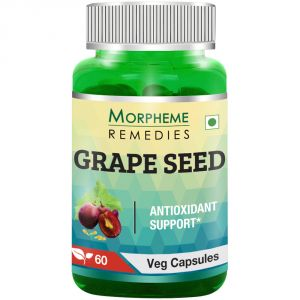 Morpheme Grape Seed Extract 500mg Extract 60 Veg Caps