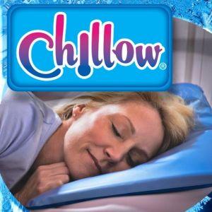 Pillows - CHILLOW PILLOW COOLING PILLOW - AS SEEN ON TV