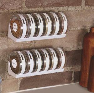 Kitchen racks & holders - CYLENDER SPICE RACK  Set Of 6 Pcs