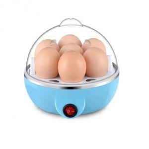 Electric Egg Boiler Poacher - Compact, Stylish 7 Egg Cooker
