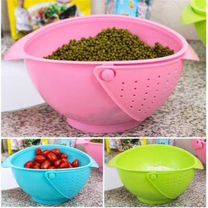Vegetable Basin Wash Rice Sieve Fruit Bowl Fruit Basket Kitchen