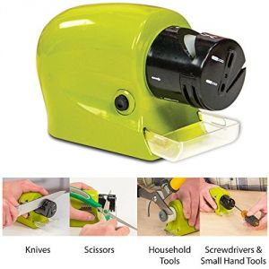 Kitchen Utilities, Appliances - Swifty Sharp Cordless, Motorized Knife Blade Sharpener