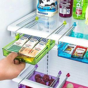 Kitchen Accessories - Multipurpose Space Saver Plastic Storage Shelf Holder Box