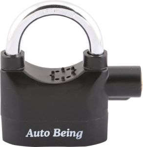 Home Security Systems - Auto Being Alarm Lock Safety Lock (Black)