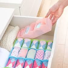 Chest of drawers - 2 x Candy Color Multifunction plastic Desktop And Drawer Storage Box Office Organizer Box 26.76.68.3cm