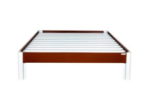 Beds - Panajoy Double Bed- Brown