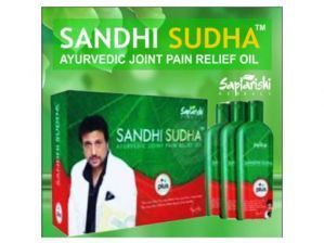 100 Percent Original Pack 3 Bottles Saptarishi Sandhi Sudha Plus Oil