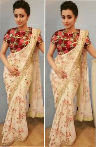 Bollywood replica sarees and lehengas - Palash fashion Bollywood Replica Royal Looking Off White Color embroidered Fancy Designer Saree