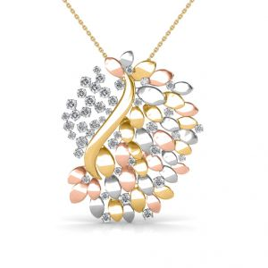 Diamond Pendants, Sets - The Venus Bouquet Pendant SDPN-101