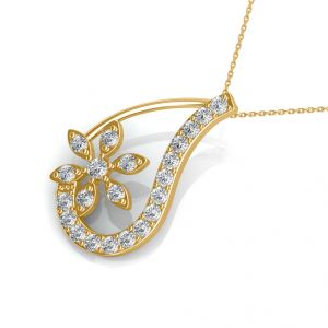 The Cathy Floral Pendant Ns101-pn406