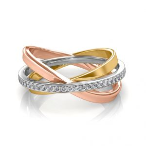 The Interlinked Infinity Ring Ns101-lrg202