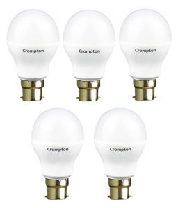 Crompton 9wdf B22 9-watt LED Lamp (cool Day Light And Pack Of 5)