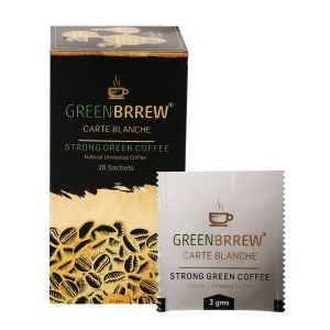 Greenbrrew Instant Green Coffee Beans Extract (carte Blanche) - 20