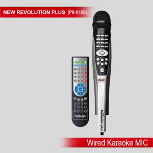 Portable Audio (Misc) - New Revolution Plus Wired Karaoke Microphone