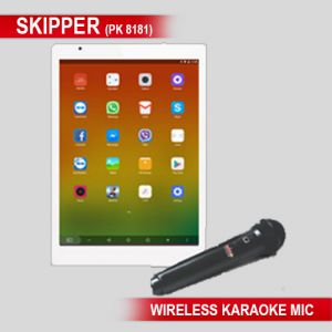Portable Audio Players, Headphones - Karaoke Skipper Tablet