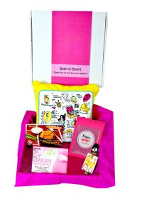 Baby Care Sets - Pamper hamper's Baby on Board ( Beginning of the Journey Hamper)