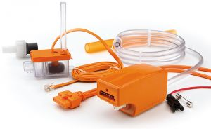 Aspen Mini Orange Condensate Drain Pump