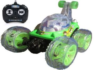 Remote Control Toys - Ben 10 Stunt Car with Remote Control