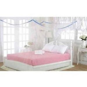 Shahji Creation Double Bed Multicolor 6x6.5 Feet Best Quality Mosquito Net