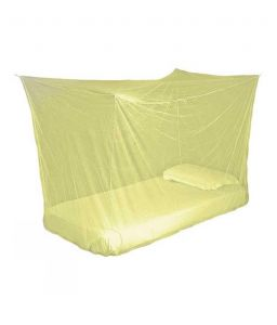 Shahji Creation Yellow Polyester Single Bed Mosquito Net