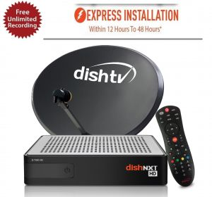 TV & Video Accessories - DISHTV NXTHD Connection with one month Recharge