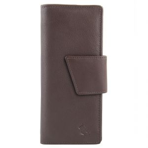 Wallets, Purses - Kara Tan Brown Color Leather Wallet For Women
