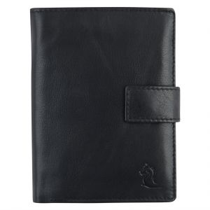 Kara Black Color Bi-fold Leather Wallet For Men