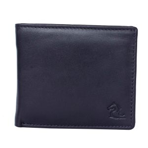 Wallets (Men's) - Kara Black Color Leather Wallet For Men
