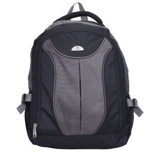 "Kara Black And Grey Color 15"" Laptop Backpack"