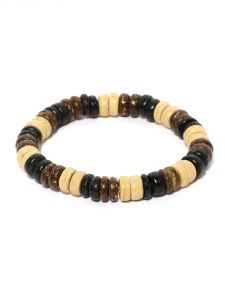 Tipsyfly Western Earthy Beaded Bracelet For Men-006mob