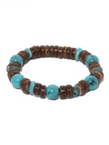 Tipsyfly Western Blue Beaded Bracelet For Men-012mob