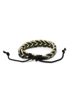 Tipsyfly Western Tricolour Braided Bracelet For Men-016mob