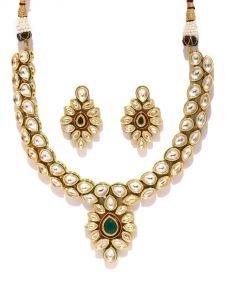 Necklace Sets (Imitation) - Tipsyfly Ethnic The Manjusha Necklace For Women-1019N