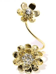 Tipsyfly Western Sun Blossom Ring For Women-119r
