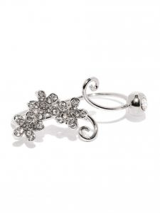 Tipsyfly Western Blossom Double Ring For Women-121r