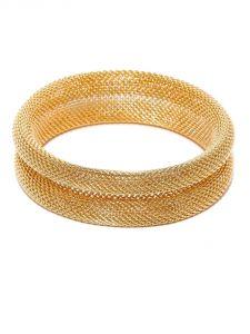 Bangles, Bracelets (Imititation) - Tipsyfly Western Laurel Mesh Bangle For Women-146OB