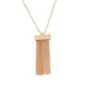 Tipsyfly Gold Color Alloy Golden Showers Necklace For Women_183n