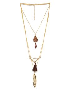 Tipsyfly Party Wear Layered Tribal Necklace And Chains For Women (1 Necklace)