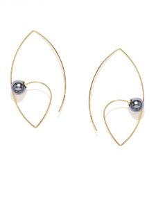 Tipsyfly Western Midnight Pearl Earrings For Women-522e