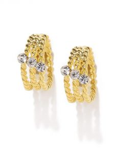 Tipsyfly Western Elegant Duo Ear Cuff Bracelet For Women-530e