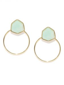 Tipsyfly Western Blue Hoop Earrings For Women-544e
