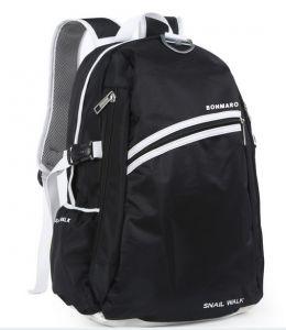 College Bags - Bonmaro Snail Walk Black School/College Backpack Bag
