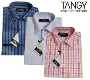 Formal Shirts (Men's) - Tangy Pack Of 3 Slim Fit Full Shirts