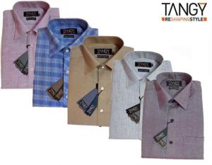 Formal Shirts (Men's) - Tangy Pack Of 5 Slim Fit Full Shirts
